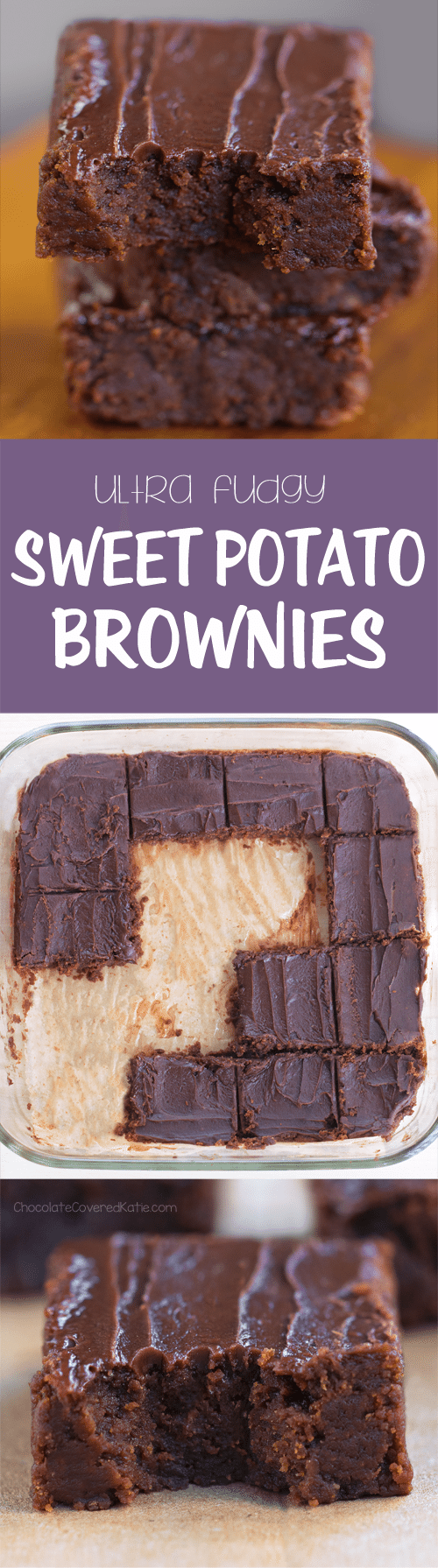 Super Easy Sweet Potato Brownies!