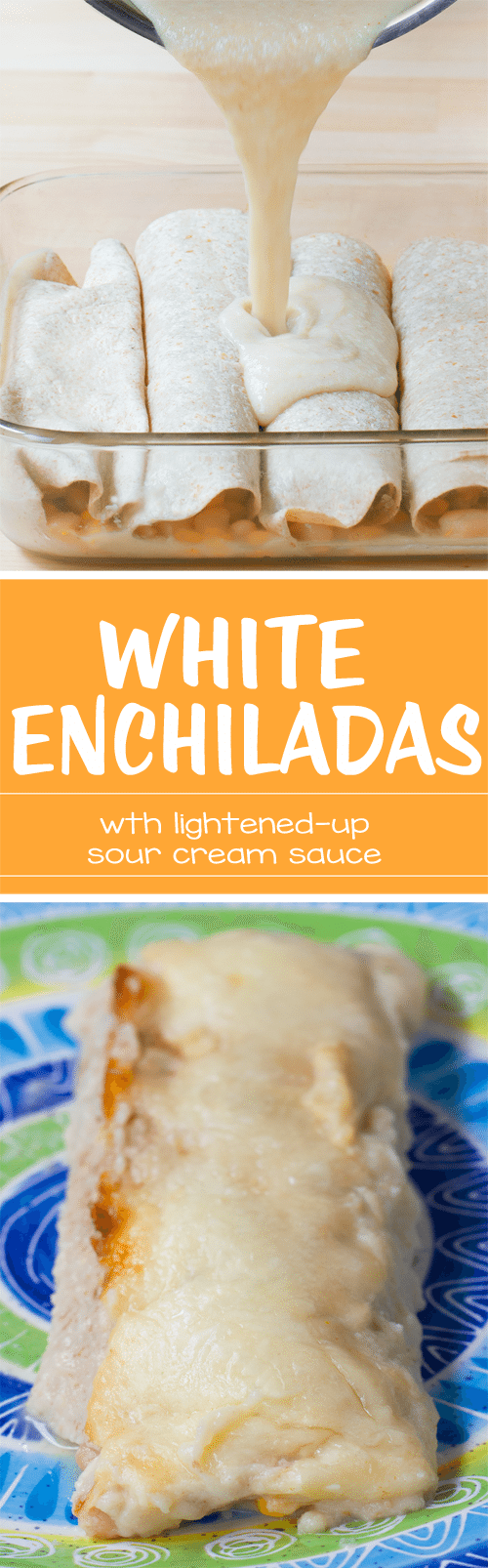 These deliciously lightened-up & vegan enchiladas are the ultimate healthy comfort food! Full recipe: https://chocolatecoveredkatie.com/2016/11/01/vegetarian-enchiladas-white-healthy/ @choccoveredkt