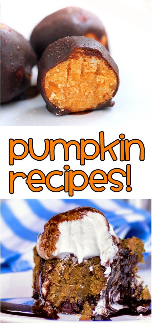 50 yummy uses for canned pumpkin.