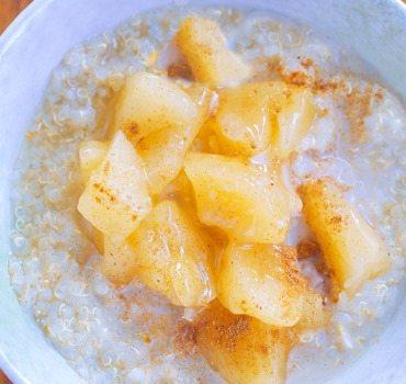 apple quinoa