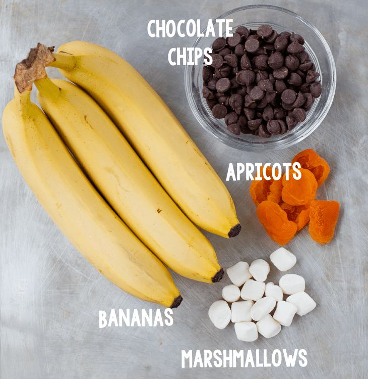 bananas ingredients