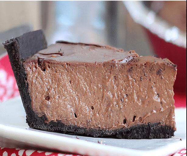 greek yogurt chocolate cheesecake