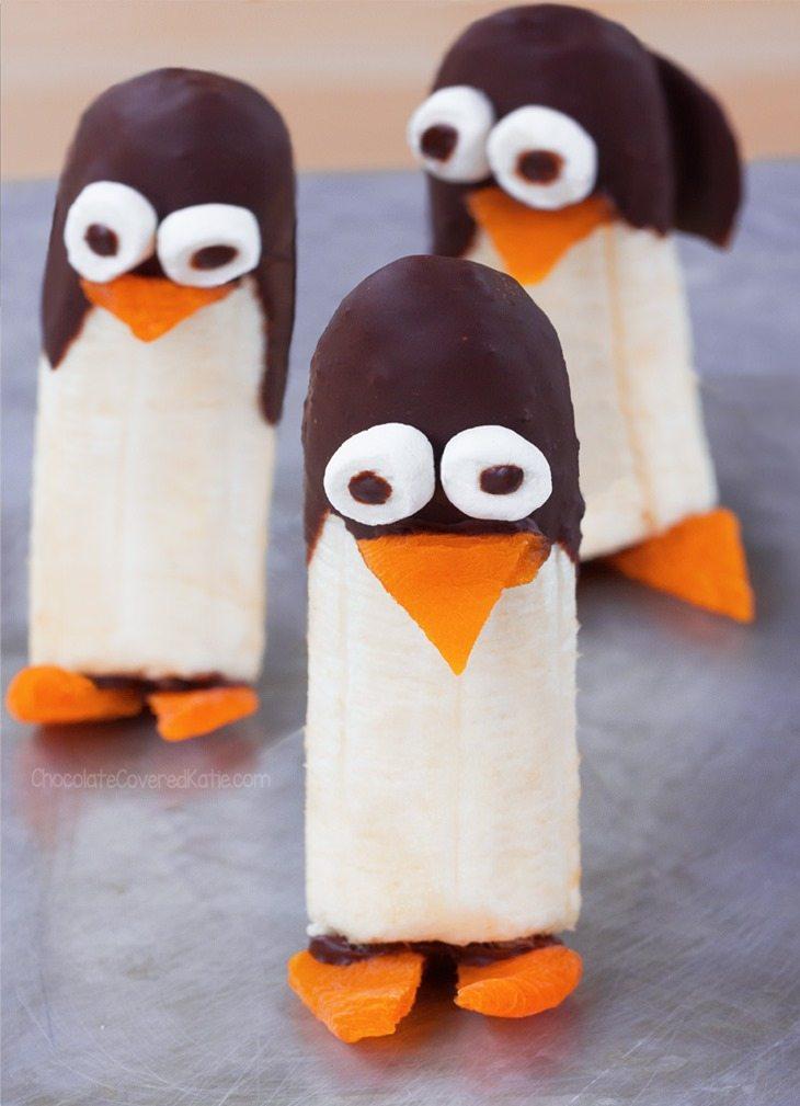 penguins dessert