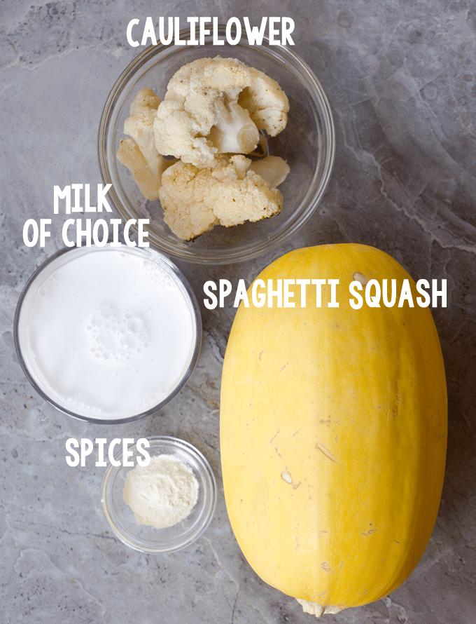 spaghetti squash ingreidents