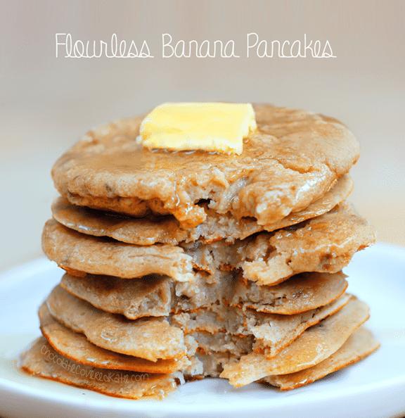 banana pancake recipe