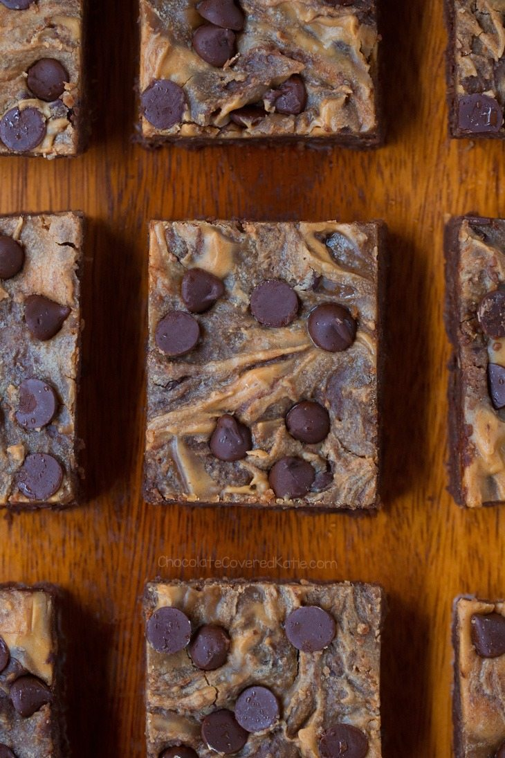 peanut butter swirl brownies