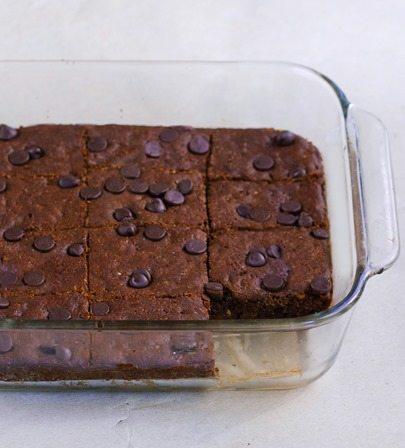 almond butter brownies recipe