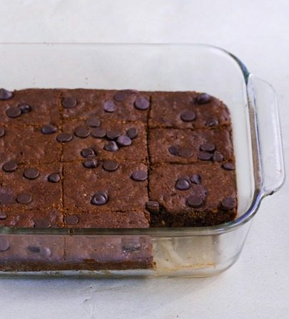 almond butter brownies recipe