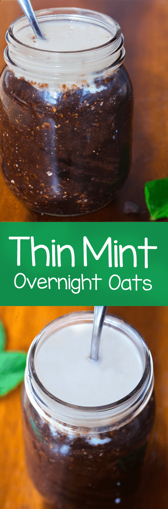 If you love Girl Scout cookies, these overnight oats were made with you in mind.