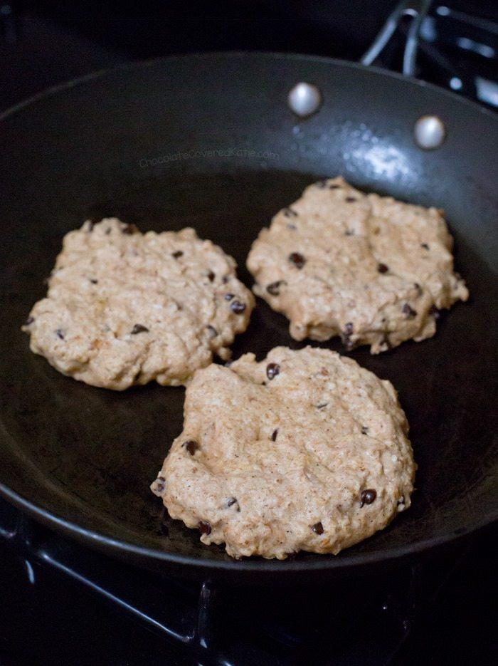 oil free pancakes