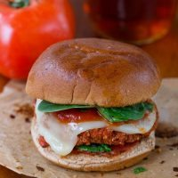 Pizza Quinoa Burgers–With Just 6 Ingredients!