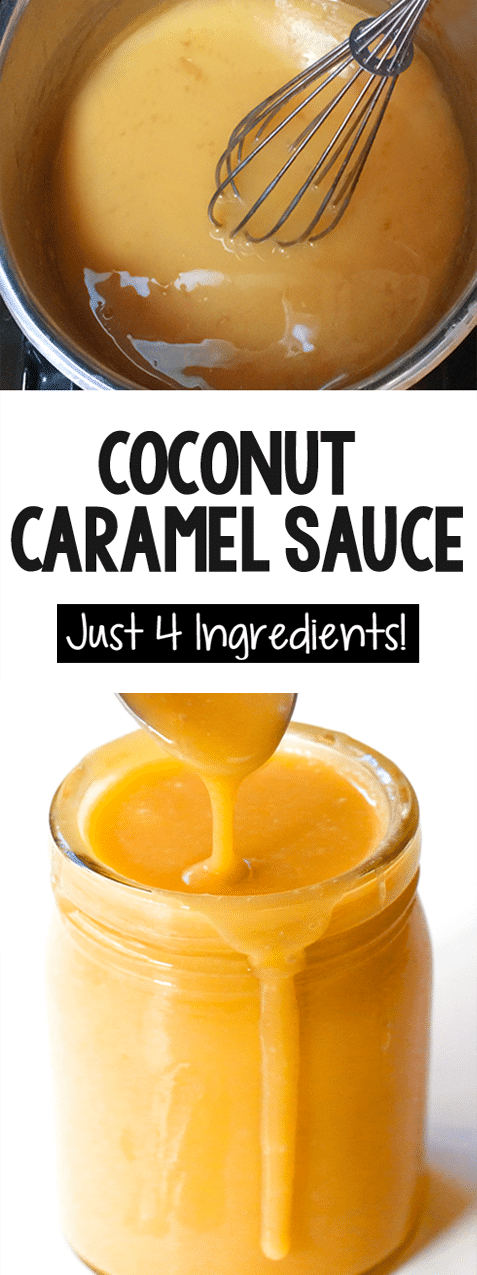 How To Make Homemade Caramel From A Can Of Coconut Milk (Easy Recipe)