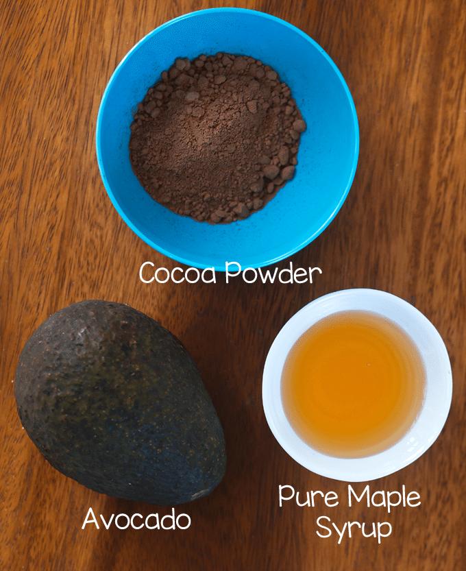 chocolate avocado