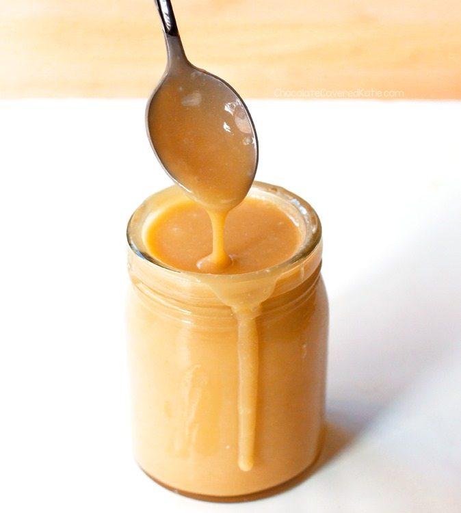 coconut milk caramel