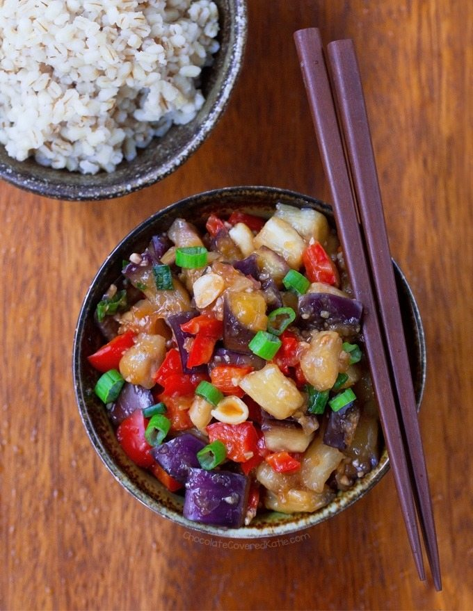 healthy kung pao