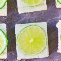 Creamy Key Lime Pie Bars