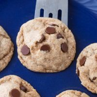 Gooey Middle Chocolate Chip Cookies