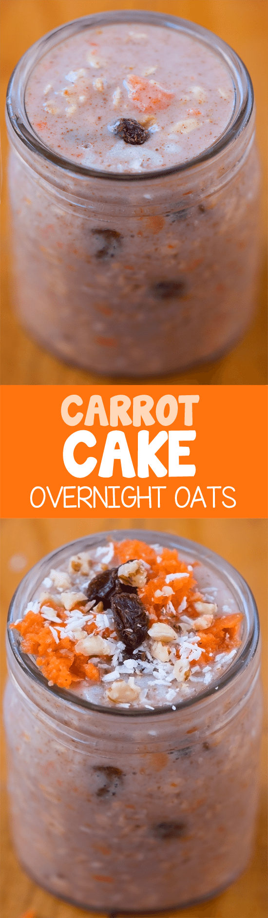 A filling & nutritious breakfast that gives you all the sweet flavor of real carrot cake, with more than 50% of your daily Vitamin A requirement and over 9 grams of fiber!