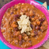 Buffalo Chickpea Chili