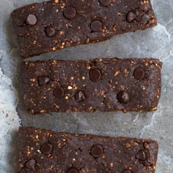 Paleo Bars – That Taste Like Chocolate Brownies