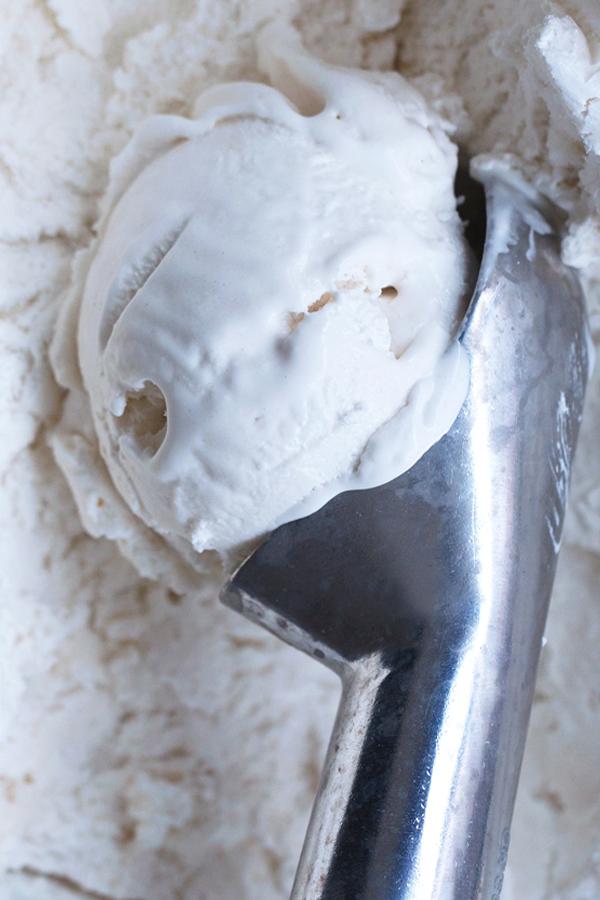 Receita Fácil de Sorvete de Coco (Vegan, Sem Laticínios, Sem Ovos)