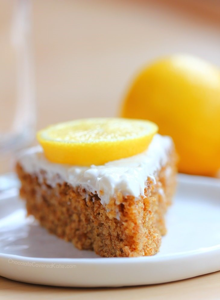 healthy lemon cake