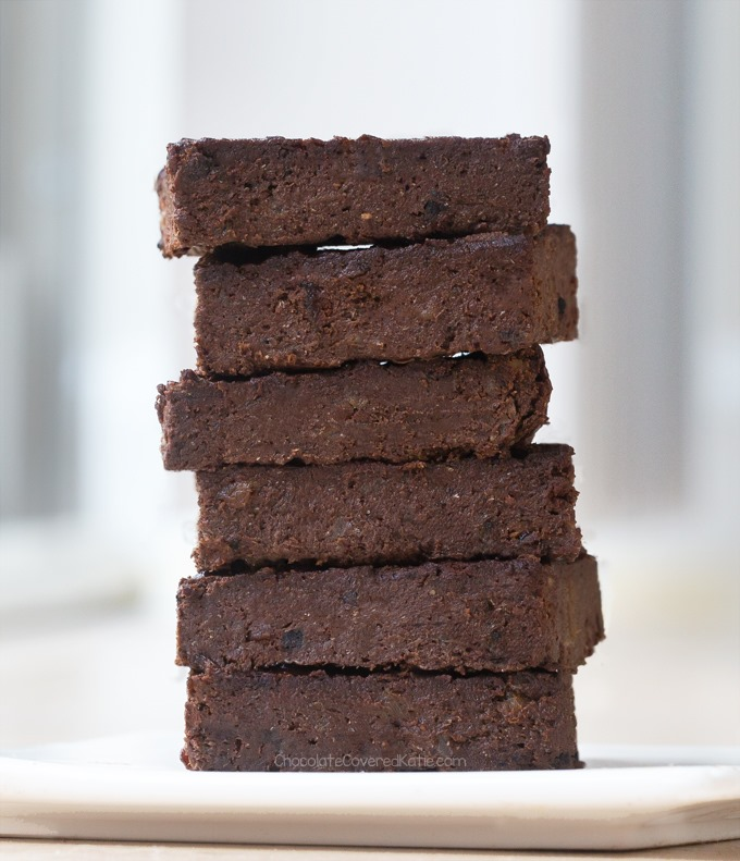 mint chocolate workout brownies