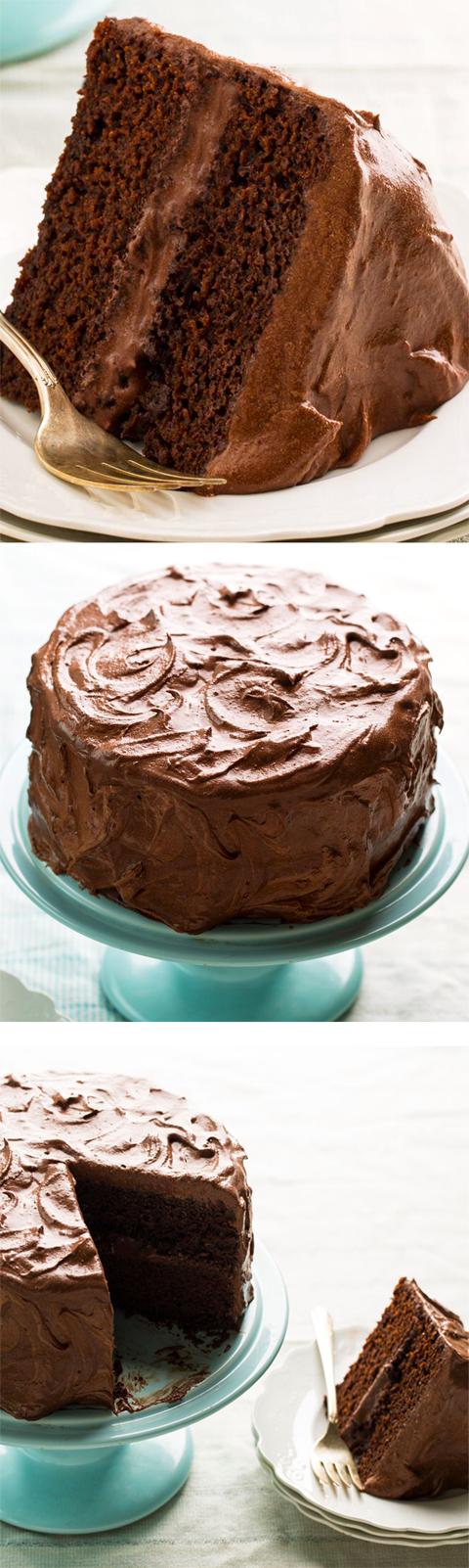 The BEST Vegan Chocolate Cake Recipe, with basic ingredients