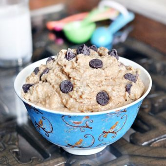Banana Cookie Dough Dip