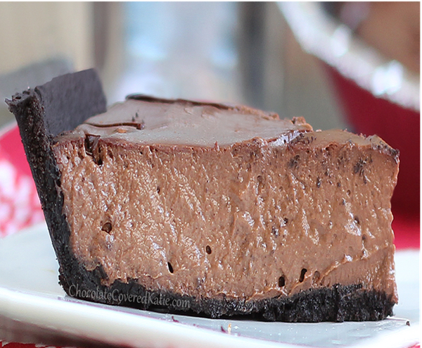greek yogurt chocolate cheesecake