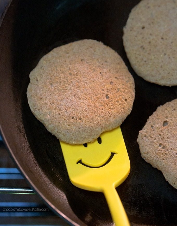 How to make pancakes not stick to the pan baked pancakes crop ccuart Choice Image