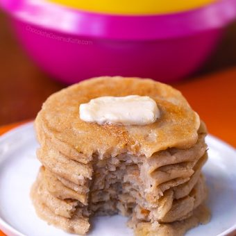 Flourless Pancakes - 3 Ingredients
