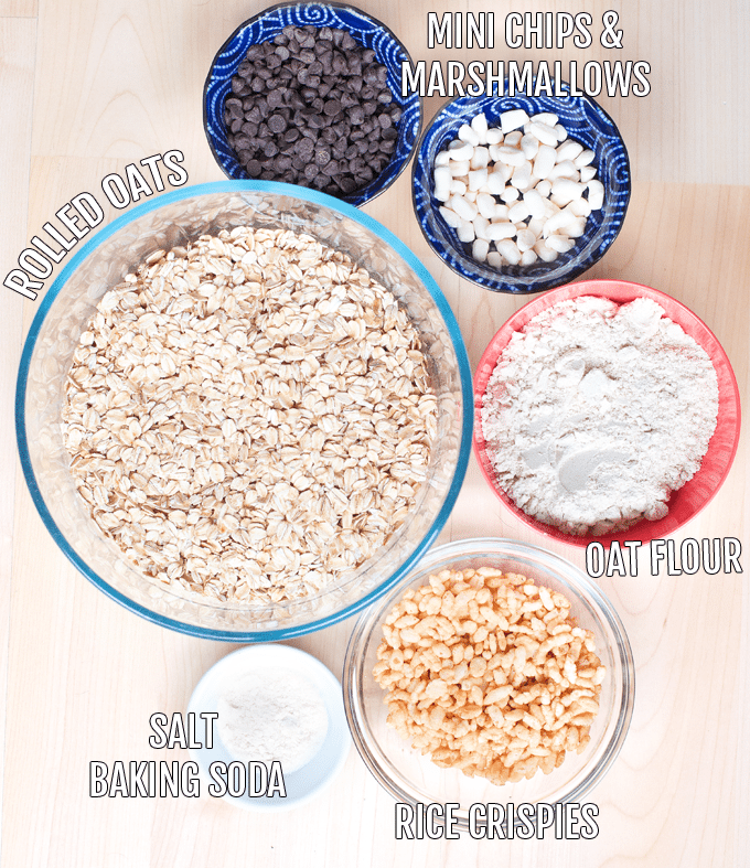 granola bars ingredients