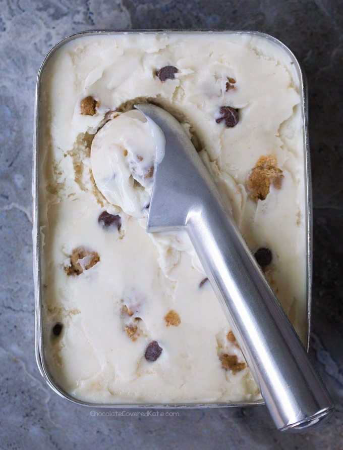 cookie dough ice cream recipe