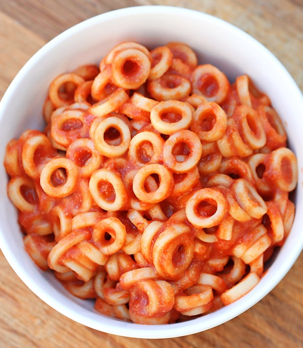 homemade spaghettios recipe