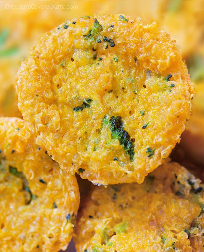 meal prep quinoa bites