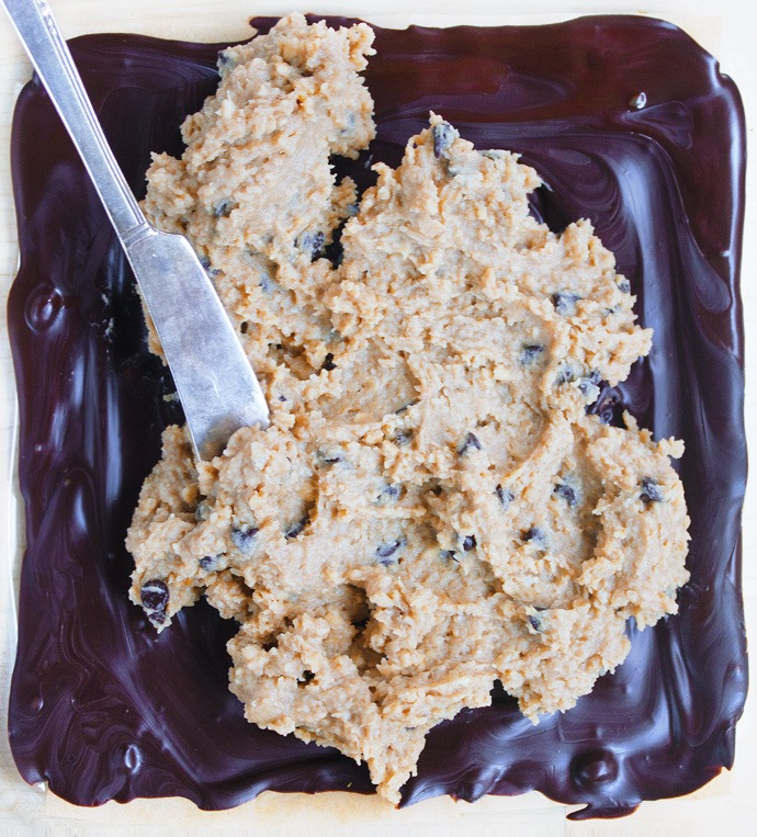 cookie dough batter