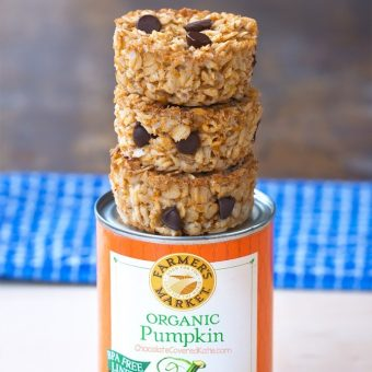Pumpkin Oatmeal Breakfast Cupcakes