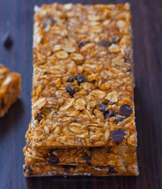 pumpkin granola bar recipe