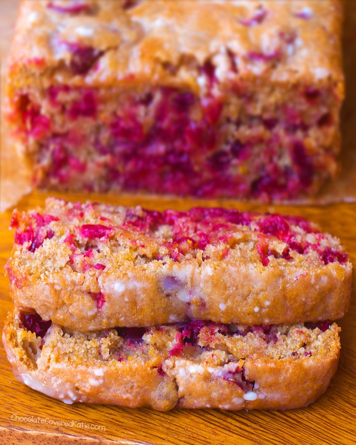 Cranberry Orange Bread Soft Delicious