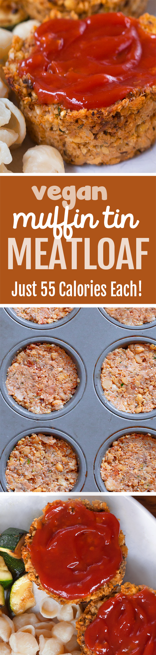 NO tofu or eggs in these portable vegan meatloaf cupcakes that are so easy to make!