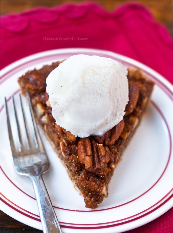 Secretly Healthy Pecan Pie Recipe - No Corn Syrup