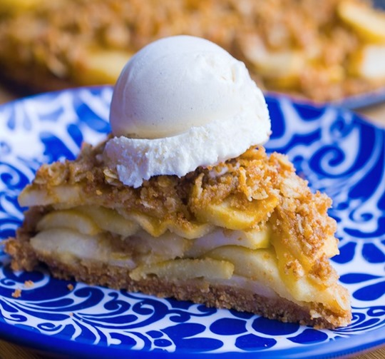 vegan healthy apple pie