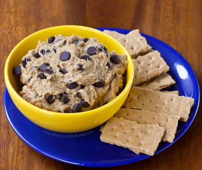 chickpea cookie dough dip