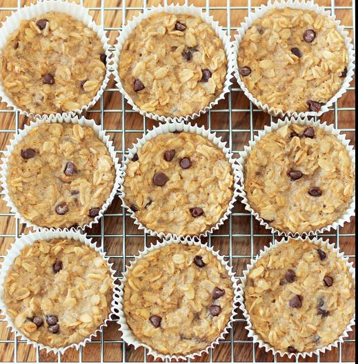 oat cupcakes recipe