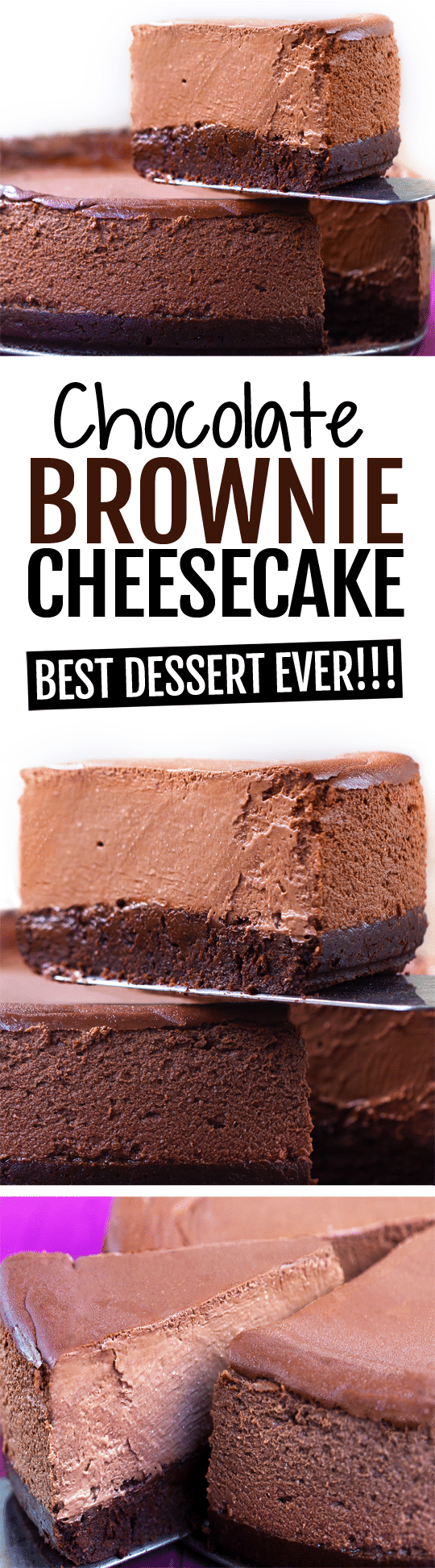 The Ultimate Creamy Chocolate Brownie Cheesecake Recipe