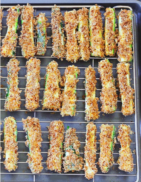 crispy healthy zucchini fries