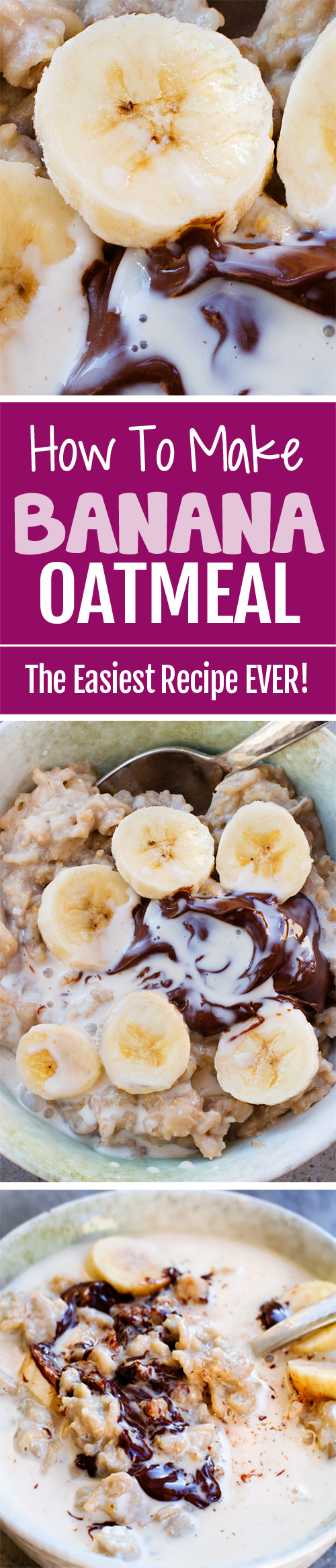 How To Make CREAMY Banana Oatmeal