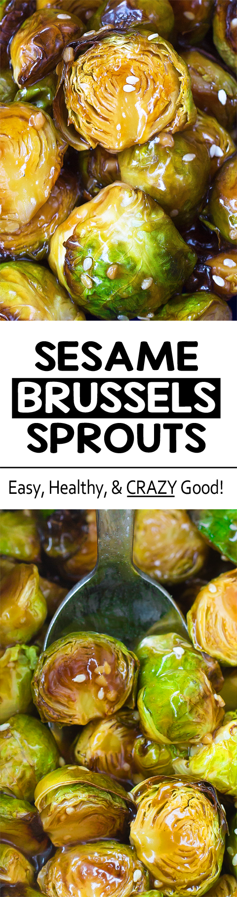 This recipe will seriously make you love brussels sprouts!