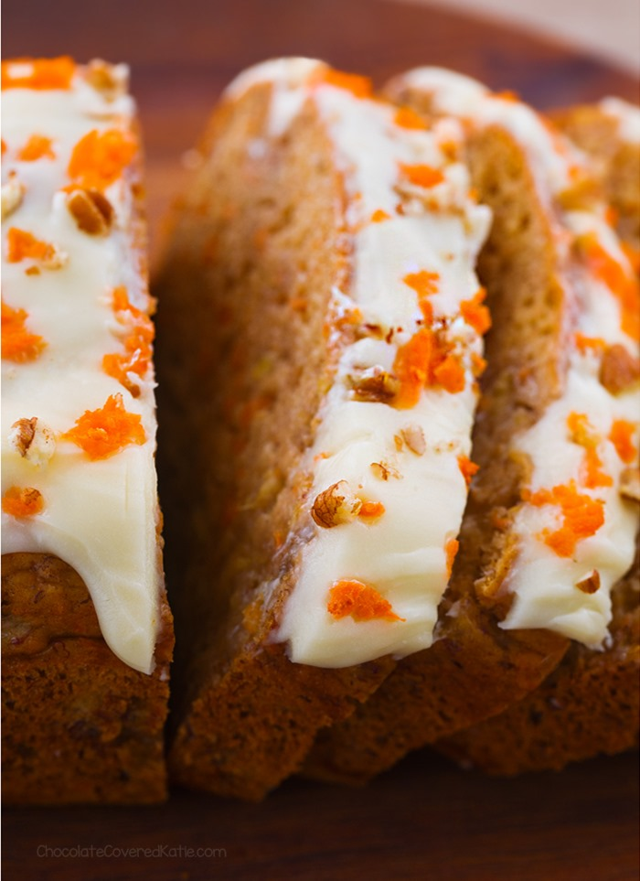 carrot cake banana bread